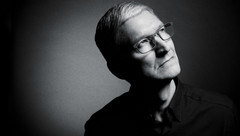 Apple CEO Tim Cook striking a visionary pose for Fast Company. (Source: Ioulex)