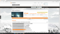 3DMark 11 in battery mode