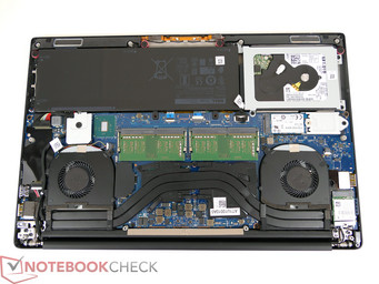XPS 15 9560 with the secondary SATA III bay