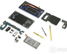 Samsung Galaxy Note 9 teardown reveals low repairability (Source: iFixit)