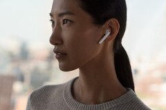 Apple AirPods currently dominate the wireless earbuds market (Image source: Apple)