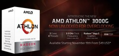 Athlon 3000G. (Image source: AMD)