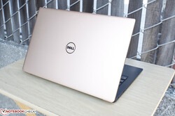 The XPS 13 9360 came in a Rose Gold color option.