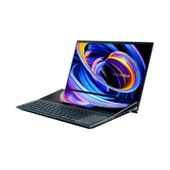 Asus ZenBook Pro Duo 15 now features an RTX 3070 Mobile. (Image Source: Asus)