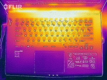 Maximum load (top)