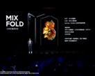 Xiaomi debuts the Mi Mix Fold. (Source: YouTube)