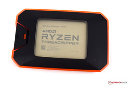 The AMD Ryzen Threadripper 2970WX desktop CPU review. Test device courtesy of AMD.