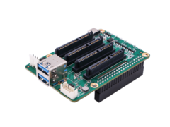 Raspberry Pi: Create a Raspberry Pi-powered quad NAS with the Radxa SATA HAT. (Image source: Radxa)