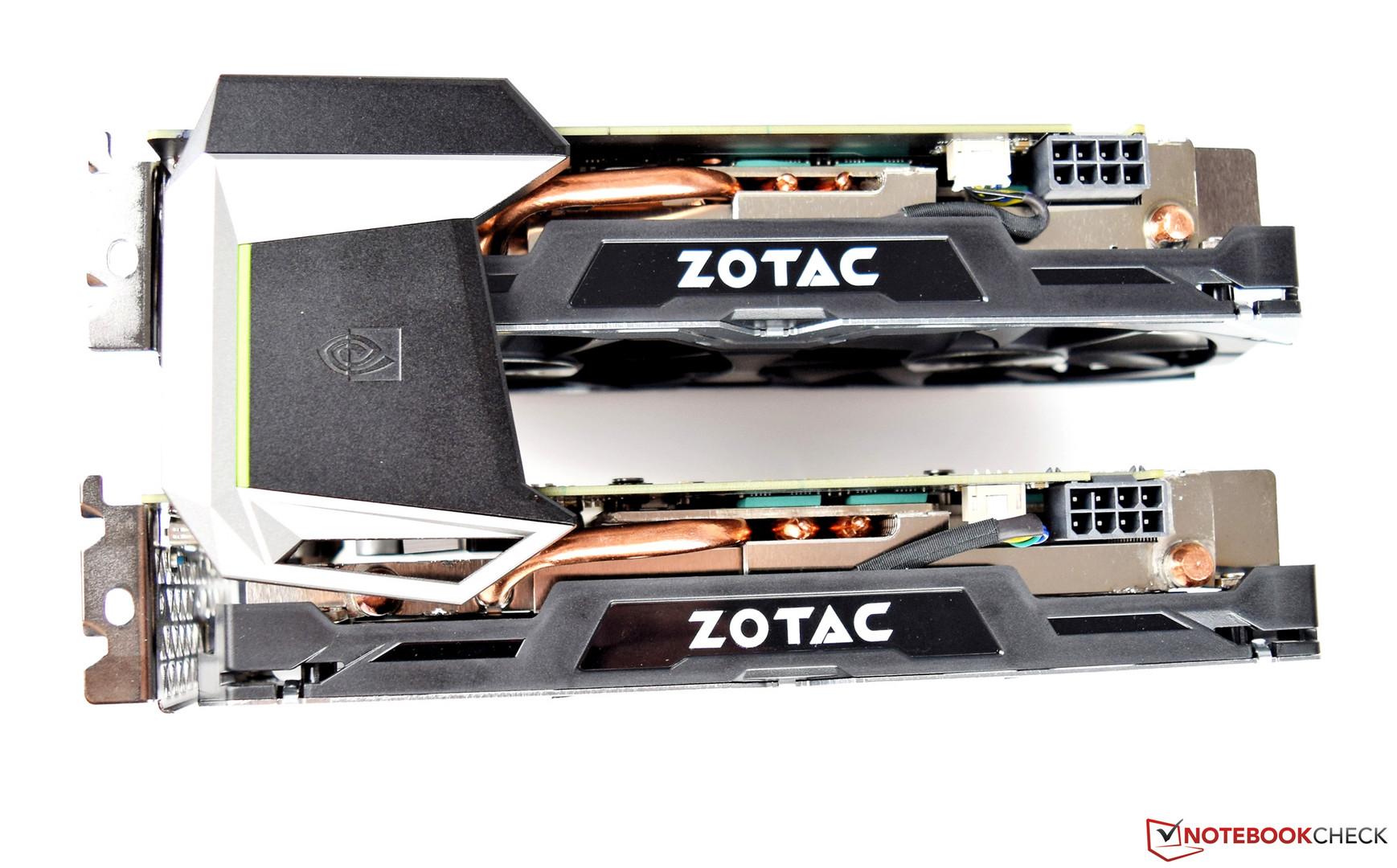Zotac GeForce GTX 1070 Mini (SLI configuration)