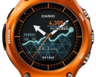 The Casio WSD-F10 will still receive Android Wear 2.0. The update has been delayed for other smartwatches. (Image source: Casio)