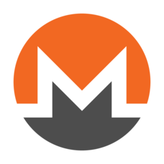 Logo of the Monero cryptocurrency, the main currency mined using the Coinhive browser-based miner. (Source: Monero)