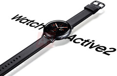 A new render for the Galaxy Watch Active 2. (Source: Android Headlines)