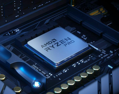 The Ryzen 7 5750G appears to offer excellent performance, based on leaked benchmarks. (Image source: AMD)
