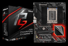 The ASRock Phantom Gaming 6 X399 motherboard. (Source: ASRock)