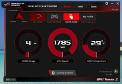 Asus GPU Tweak II (Silent mode)