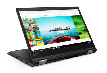 ThinkPad X380 Yoga: Demonstration of the 360 degree hinges