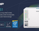 QNAP TS-351 home NAS (Source: QNAP Systems)