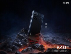 The Redmi K40 Pro. (Source: Xiaomi)
