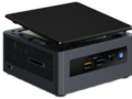 Unlike most previous NUC solutions from Intel, the Crimson Canyon mini PCs are semi-barebone models that come with soldered RAM and included HDDs.  (Source: SimplyNUC)