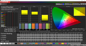 ColorChecker (Profile: Basic, target color range: sRGB)