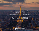 The Huawei P20 will officially launch on March 27 in Paris. (Source: Android Authority/Huawei)