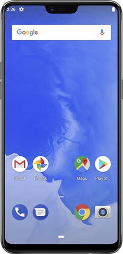 The Android P beta running on the Oppo R15 Pro. (Source: Google)