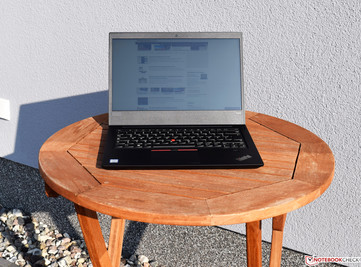 Lenovo ThinkPad E480 in sunlight