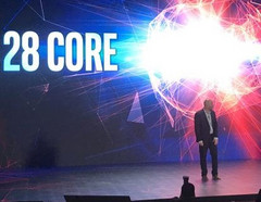 The 28-core CPU has the boost clocks set to 5 GHz, but there should be room for further overclocking. (Source: Anandtech)