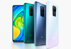 The Redmi Note 9 has become another best-selling smartphone for Xiaomi. (Image source: Xiaomi)