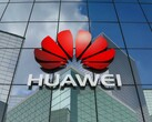 Huawei corporate logo on an office building, Huawei using backdoor to access global mobile networks February 2020 news
