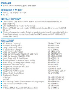 Panasonic FZ-M1 specs 3. (Source: Panasonic)
