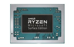 The Ryzen 5 3580U will only be available in the 15-inch version of the Surface Laptop 3(Image source: AMD)