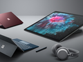 Microsoft's Surface hardware is continuing to gain market traction. (Source: Microsoft)