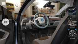 BMW i Visualiser: taking a virtual seat in an electric car, for example the BMW i3.