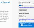 Windows Defender extension for Chrome (Source: Chrome Web Store)