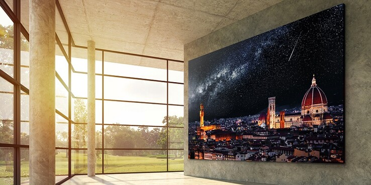 Cover a whole wall. (Image source: LG)