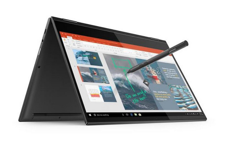 The Lenovo Yoga C630 WOS is a 2-in-1 convertible unlike the Miix 630. (Source: Lenovo)