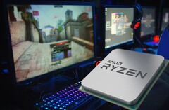 The AMD Ryzen 5000G desktop APUs could be a lower-cost SoC option for desktop PC builders. (Image source: AMD/Avira - edited)