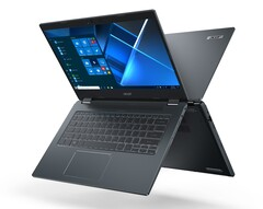 The new Travelmate P4 series is lighter and slimmer. (Image Source: Acer)