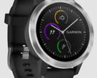 The Garmin Vivofit 3 looks less like a fitness tracker and more like a smartwatch. (Image source: Wareable)