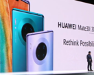 Huawei unveils the Mate 30 series. (Source: YouTube)