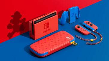 Nintendo Switch Mario Red & Blue Edition console. (Image source: Nintendo)