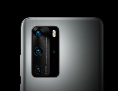 "The Huawei P40 Pro's 1/1.28"" is the biggest on the market. (Source: Huawei)"