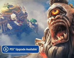 """PS5 Upgrade Available"" badge. (Image source: Ubisoft)"