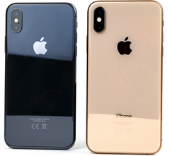 The iPhone X (left) and XS. Apple is restarting production of the X and cutting orders for components of the XS for a second time. (Image source: own)