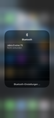 Advanced Bluetooth quick settings