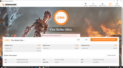 Fire Strike Ultra (overclocked)