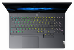 Lenovo Legion Slim 7i with Corsair RGB keyboard. (Image Source: Lenovo)