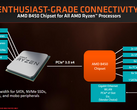 The AMD B450 chipset is now official. (Source: Anandtech)