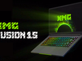 Schenker has partnered with Intel for the XMG Fusion 15. (Image source: Schenker)